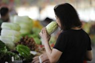 &lt;p&gt;A woman shops at a market in Beijing. China&#39;s inflation rate accelerated slightly in August to 2.0%, according to figures released Sunday, which analysts said could limit the government&#39;s ability to enact fresh stimulus measures.&lt;/p&gt;