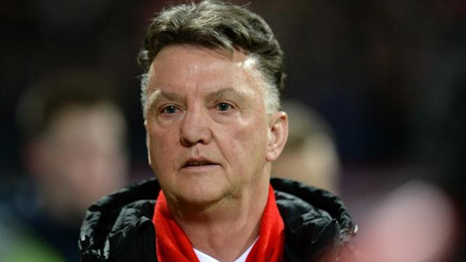 Manchester United manager Louis van Gaal (pictured) angrily rejected media speculation that there is a rift between him and assistant manager Ryan Giggs