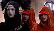 Keira Knightley and Natalie Portman in 'The Phantom Menace'. Try telling which is which...