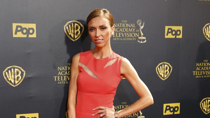 Television personality Giuliana Rancic arrives at the 42nd Annual Daytime Emmy Awards in Burbank