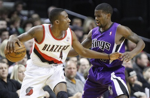 Cousins, Salmons help Kings beat Blazers 99-80