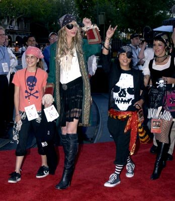 Daryl Hannah at the LA premiere of Walt Disney's Pirates Of The Caribbean: The Curse of the Black Pearl
