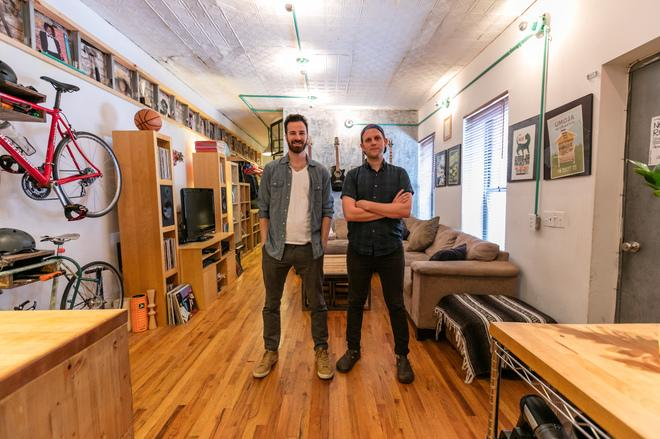 Curbed NY: How Roommates Turned a Brooklyn Studio Into a Two-Bedroom