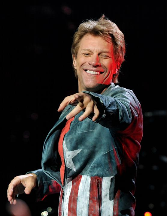 Bon Jovi Performs At The Staples Center