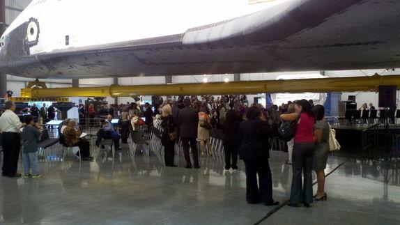 Newly Opened Space Shuttle Endeavour Exhibit Thrills California Crowds