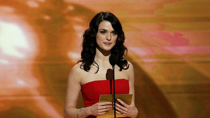 Rachel Weisz at the 64th annual Golden Globe Awards.