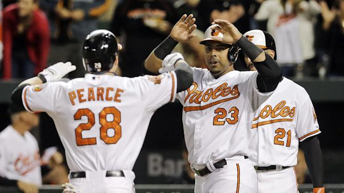 Orioles clinch AL East with 8-2 win over Blue Jays