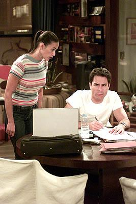 Demi Moore and Eric McCormack on NBC's Will and Grace