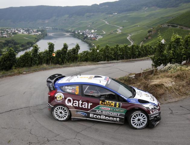 CORRECTION Germany FIA World Rally Championship