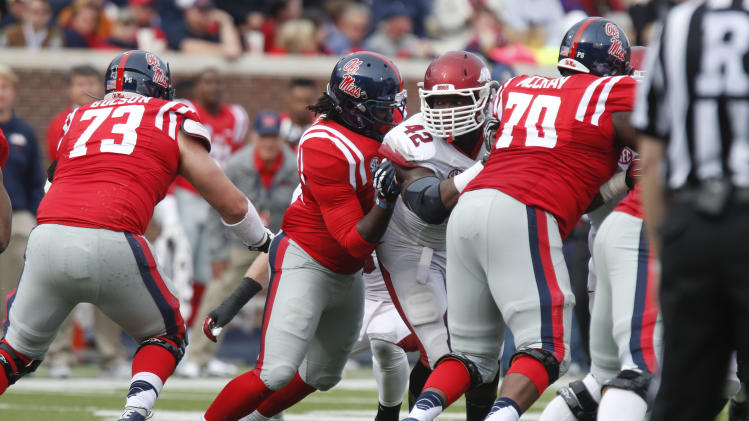 Ole Miss OL Austin Golson will transfer to Auburn