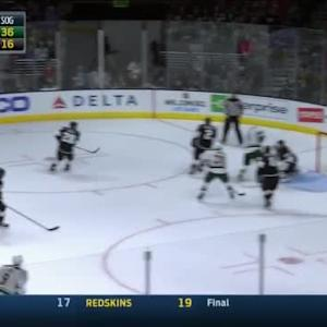 Jonathan Quick Save on Jason Pominville (15:14/3rd)