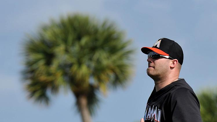 MLB: Miami Marlins-Pitchers & Catchers