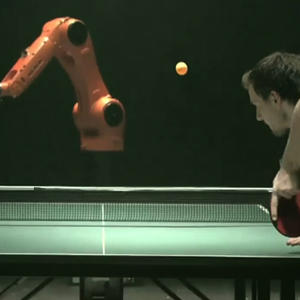 Robot Takes on Top Ping Pong Player