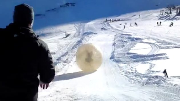 Man Dies in 'Zorbing' Thrill-Ride (ABC News)