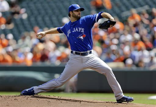 Blue Jays beat Orioles 6-5 in 11 innings