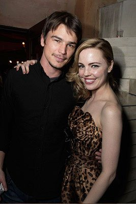 Josh Hartnett and Melissa George at the Los Angeles premiere of Columbia Pictures' 30 Days of Night