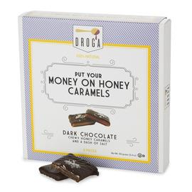 National Caramel Day -- Droga Chocolates' Put Your Money On Honey Caramels