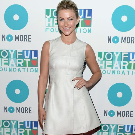 Julianne Hough 'adventurous' with fashion