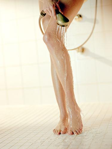 Try a Pre-Shower Scrub