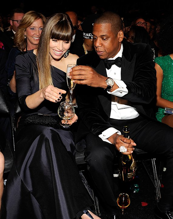 Jessica Biel, Jay-Z