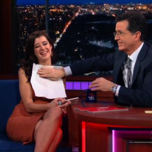 Playboy Cover Model's Embarrassing 'Late Show' Wardrobe Malfunction