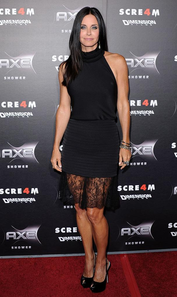 Scream 4 LA Premiere 2011 Courteney Cox