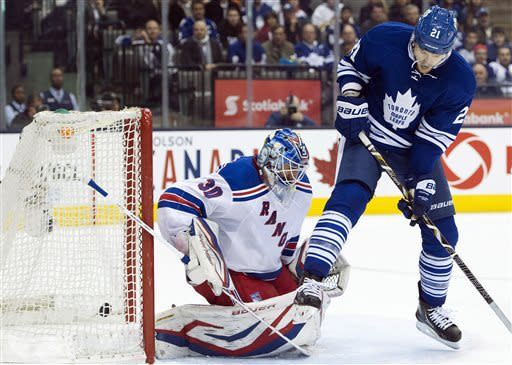 Kessel lifts Maple Leafs to 4-3 win over Rangers