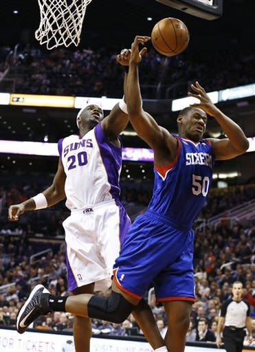 Suns beat 76ers to end six-game skid