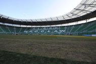The interior of the municipal stadium in Polish city Wroclaw which will host group stage matches during the UEFA Euro 2012 football championships. Stadium authorities in the Euro host city have received a green light for games at their brand-new arena, after resolving last-minute operating problems that forced a temporary closure