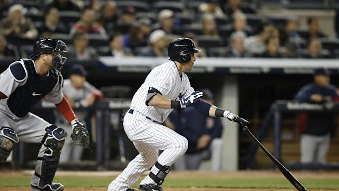 Ellsbury gets RBI, run in 1st game vs Bosox