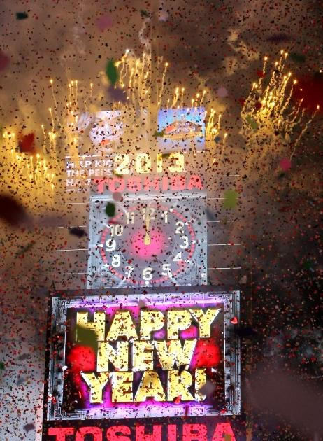 New Year's Eve 2013 -- Getty Images