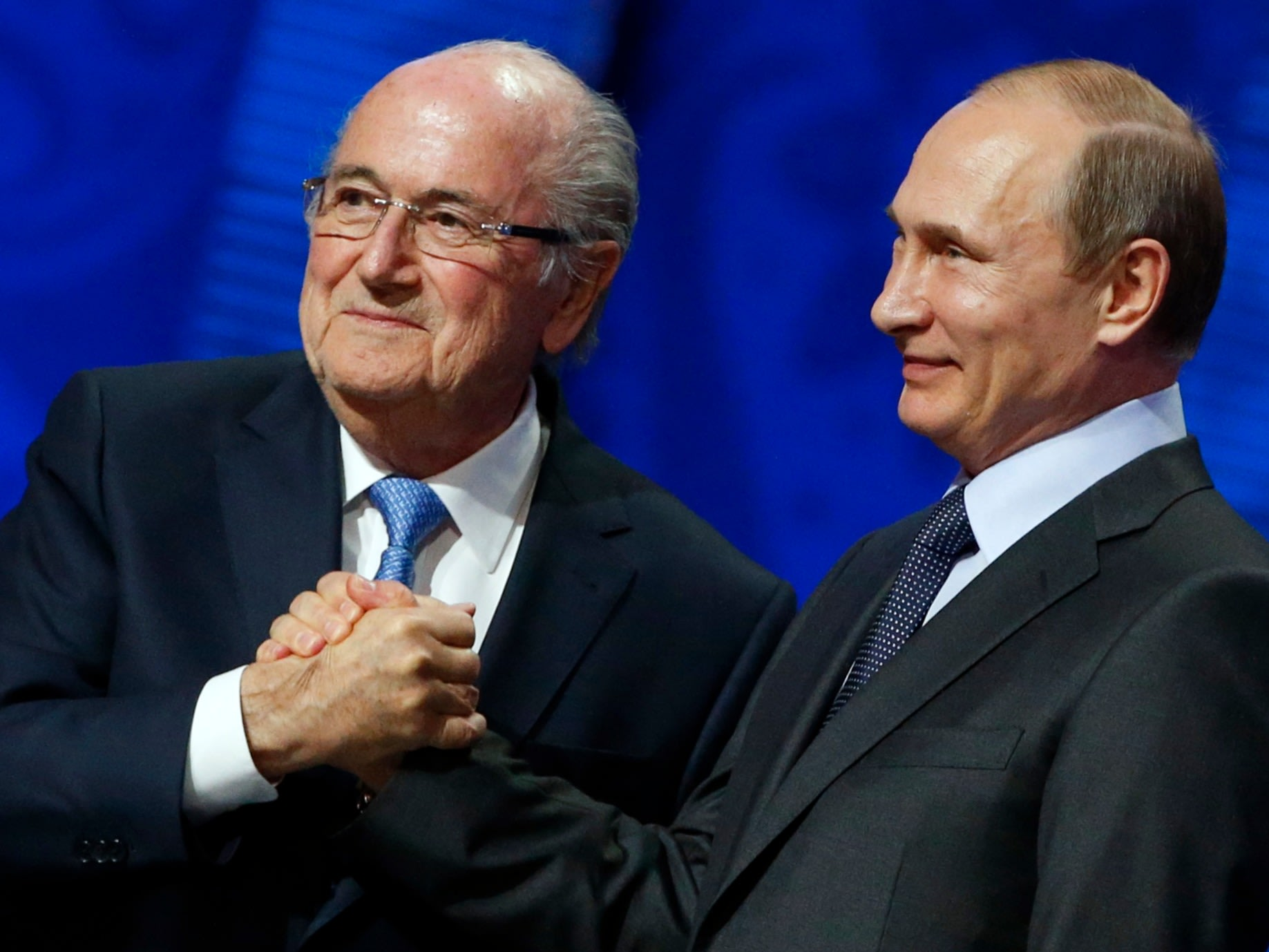 Putin's support for embattled FIFA president Sepp Blatter says something striking about how he views the world