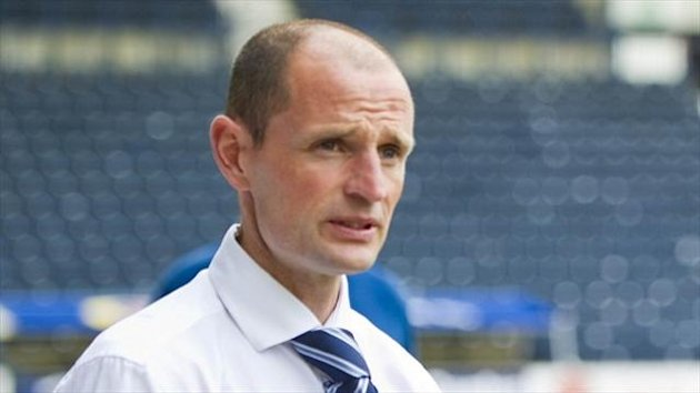 Allan Johnston, pictured, has hit back at comments made by former Kilmarnock boss Kenny Shiels