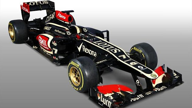 2013 Launch Lotus E21