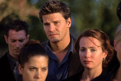 David Boreanaz as Adam in Warner Brothers' Valentine