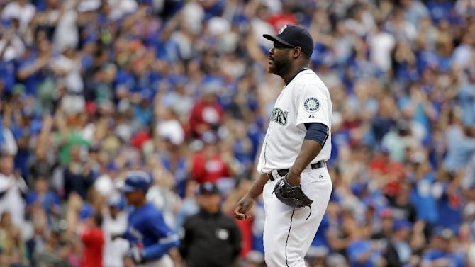 Seattle believes struggling Rodney tipping pitches