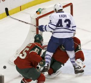 Maple Leafs' Nazem Kadri suspended 3 games