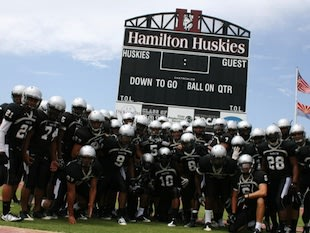 Chandler (Ariz.) Hamilton High, one of the state's football powers — HamiltonHuskiesFootball.com