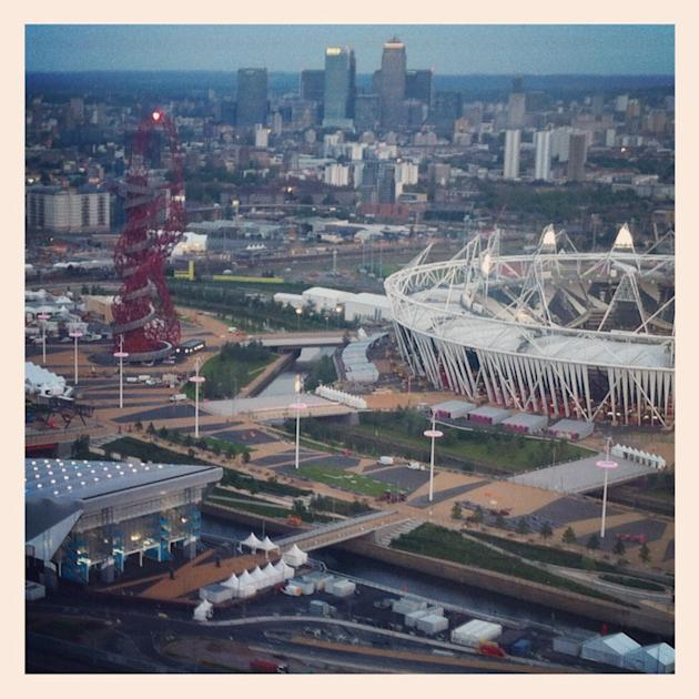 Olympic Park including the Orbit