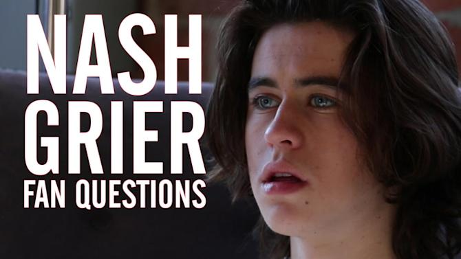 'Outfield' Star Nash Grier Answers Fan Questions in Different Accents