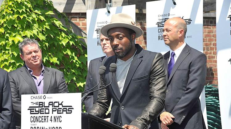 Will I Am NY Concert Press Conf