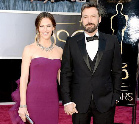 "Ben Affleck on Wife Jennifer Garner: ""She's More Perfect Than I Am"""