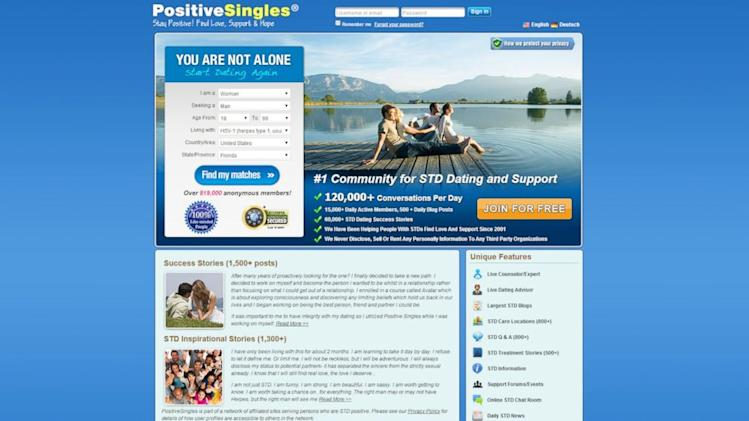 dating sites for herpes positive