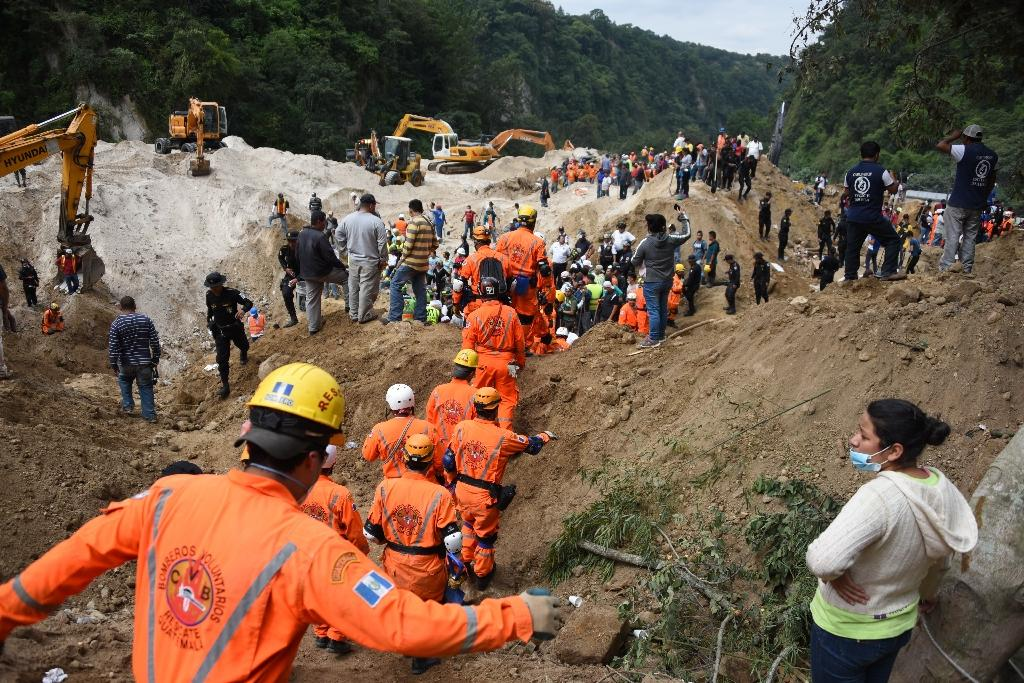 Guatemala landslide death toll climbs to 69, hundreds missing