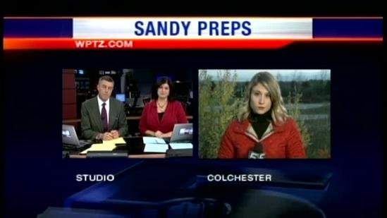 Shipyards, power companies and cities prepping for Sandy