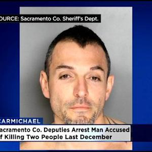 Suspect In Carmichael Double Homicide Arrested