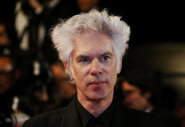 "Director Jim Jarmusch arrives for the screening of the film ""Only Lovers Left Alive"" in competition during the 66th Cannes Film Festival"