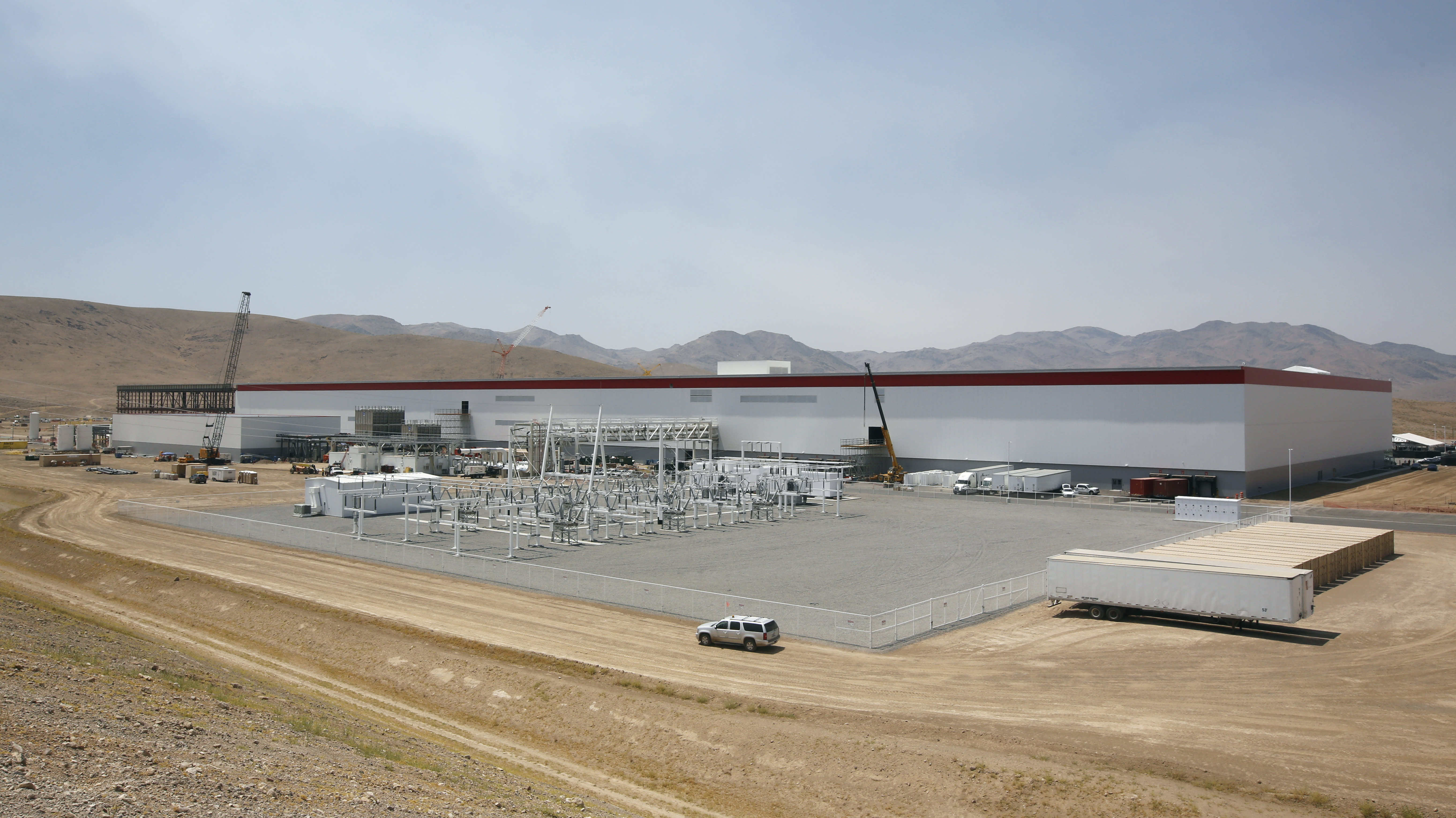 Tesla opens Gigafactory to expand battery production, sales