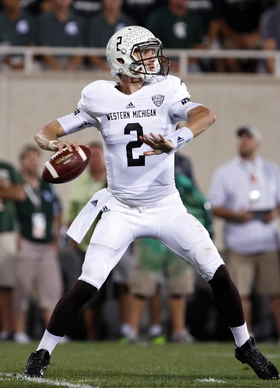 Michigan State beats Western Michigan 26-13