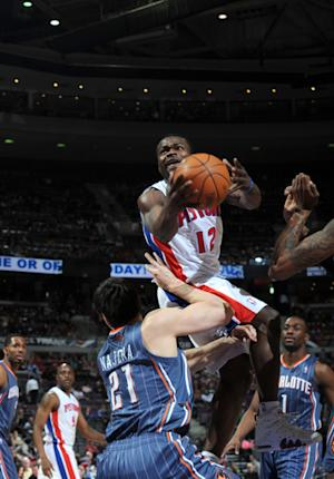 Pistons rally to beat Bobcats 110-107 in OT